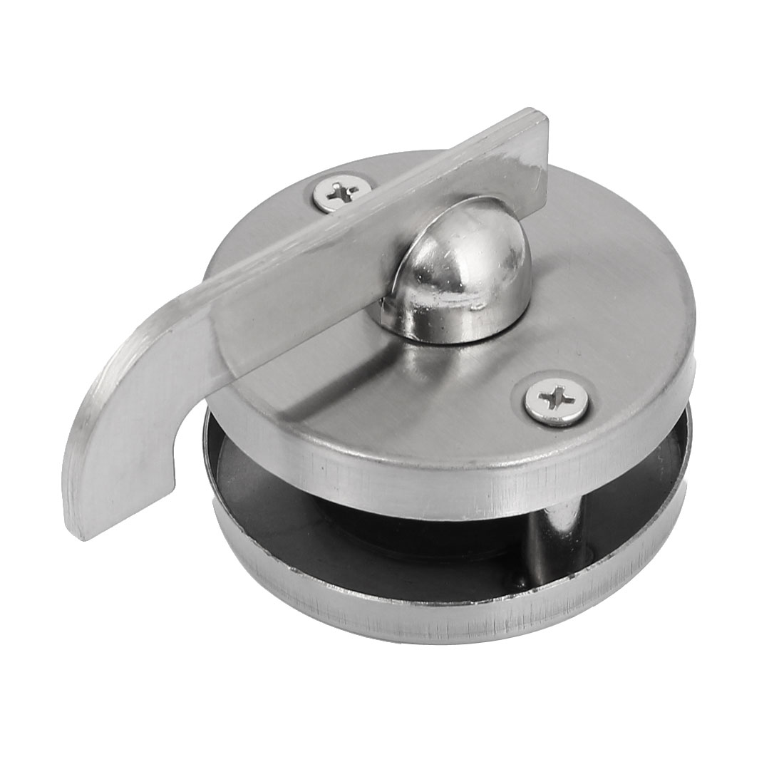 Public Bathroom Toilet Stainless Steel Door Lock Silver Tone