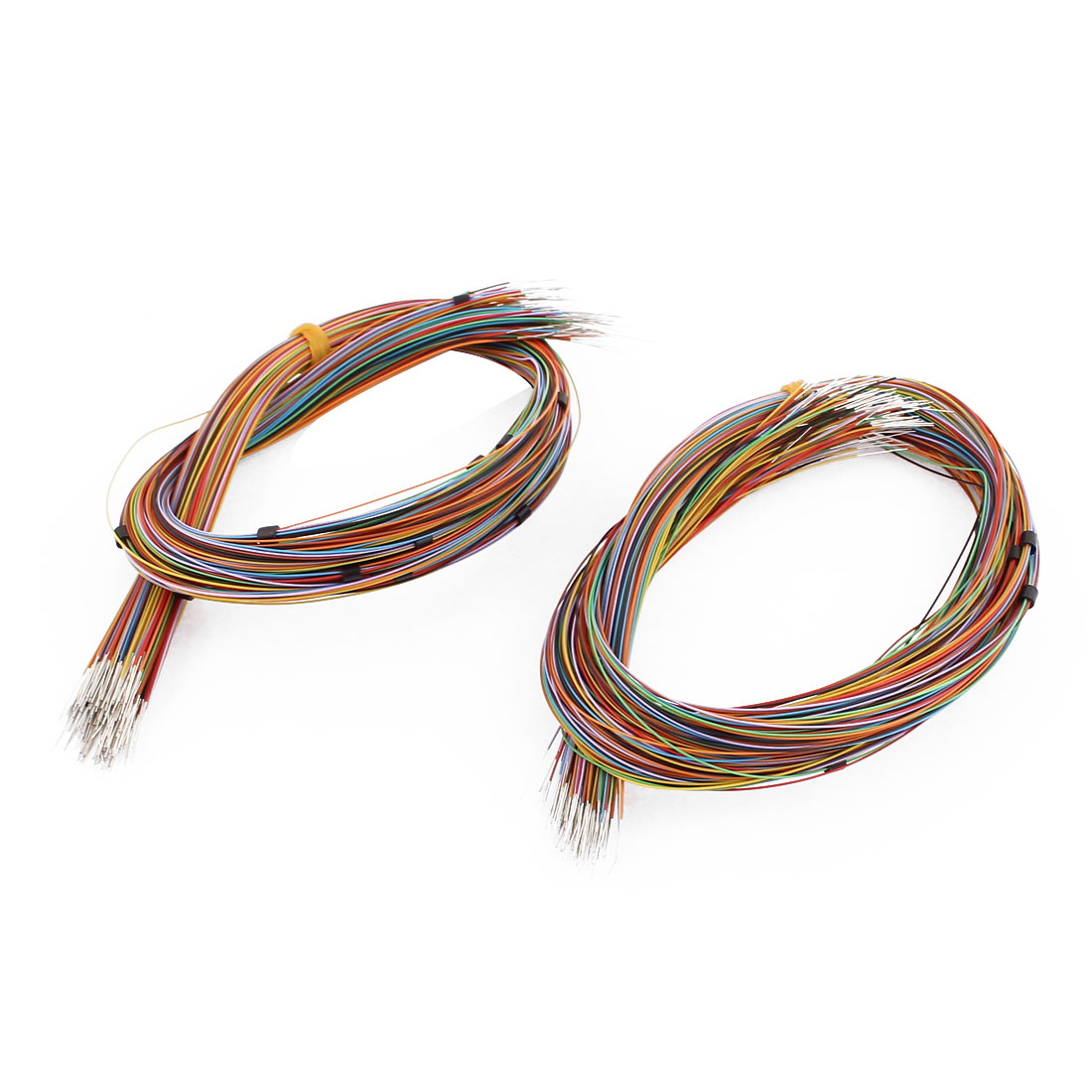 400Pcs High Temperature Resistant Wrapping Wire 370mm x 0.4mm Multicolor