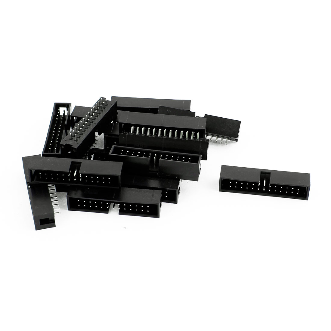 17 Pcs 26-Pin Double Dual Row Box Header Connector Pitch 2.54mm