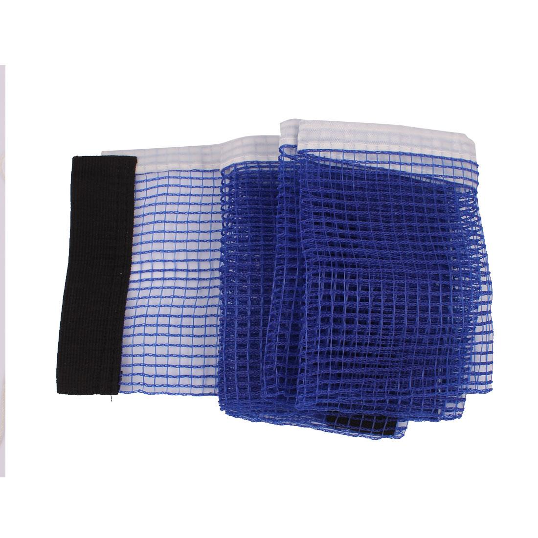 Nylon Indoor Games Pingpong Sports Table Tennis Meshy Net Blue 172 x 14cm