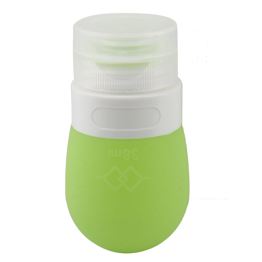 Travel Portable Shampoo Shower Gel Lotion Cosmetic Bottle Container Pale Green 38ml