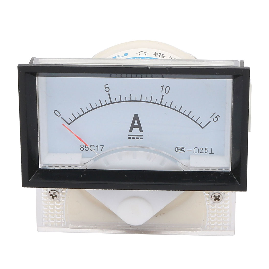 0-15A Analog DC Current Panel Meter Amperemeter 85C17-15A