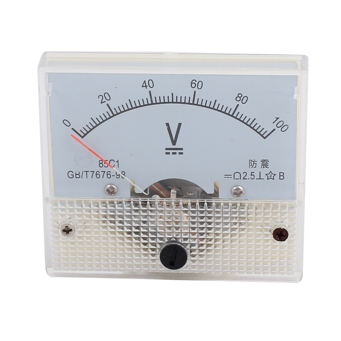 DC 0-100V Analog Volt Voltage Panel Meter Voltmeter Gauge 85C1