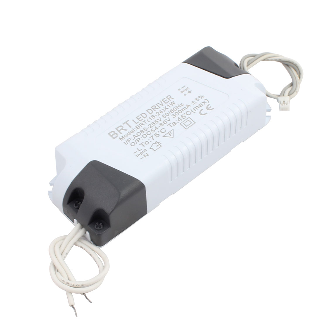 18-24 x 1W Small Terminal Connector Advanced Plastic Shell LED Driver Power Supply