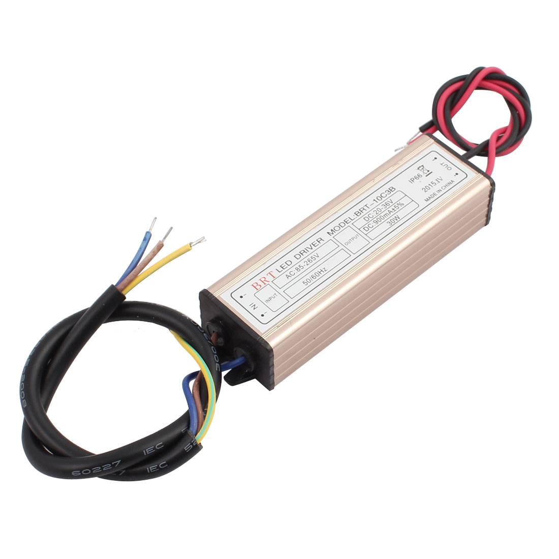 AC85-265V to DC20-36V 30W Transformer IP66 Waterproof LED Driver Power Supply