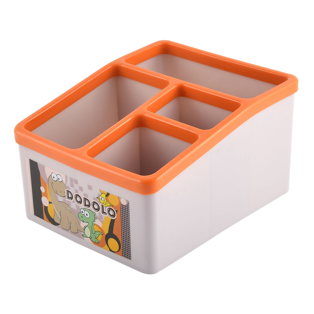 Desk PP Multifunctional Classification Remote Control Storage Box
