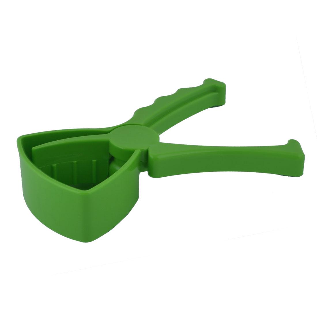 Home Kitchen Plastic Lemon Citrus Press Handy Grips Blender Juicer Green