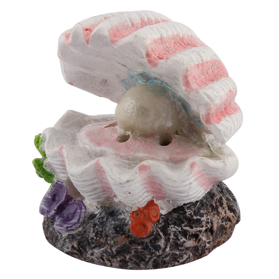 Conch Shaped Aquarium Fishbowl Air Stone Bubble Release Colorful