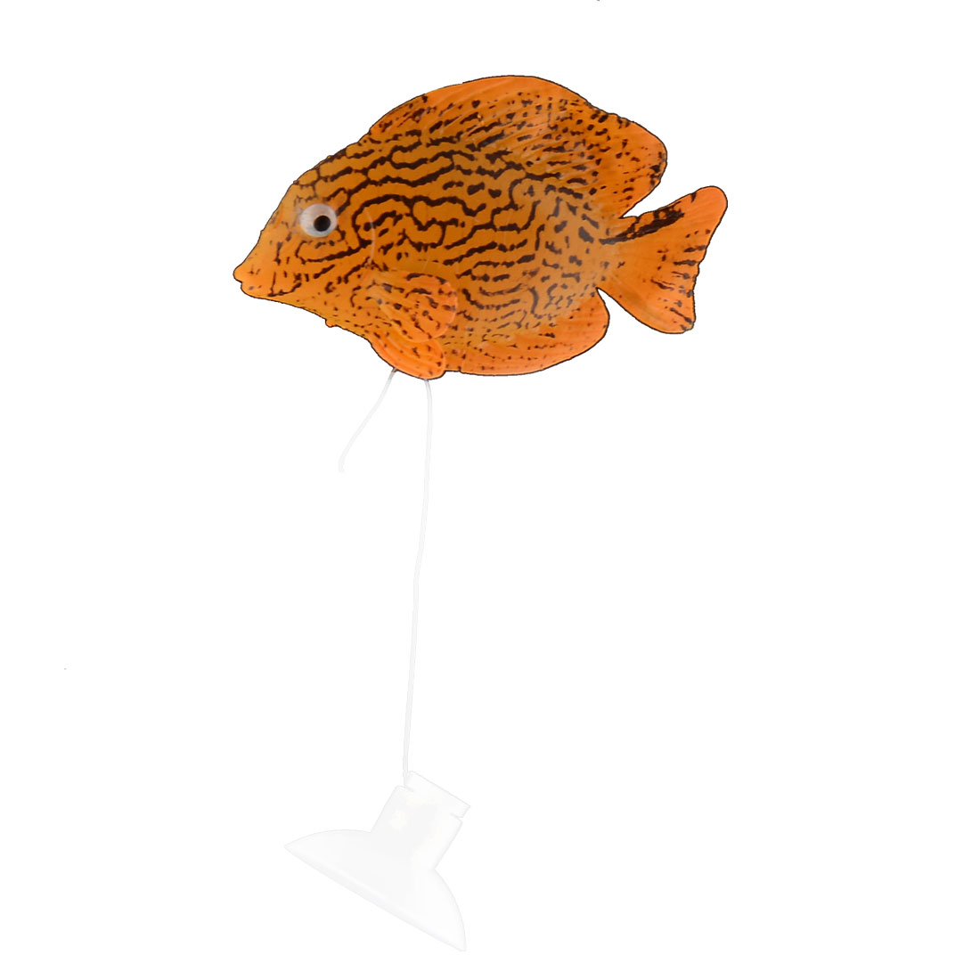 Fishbowl Goldfish Tank Silicone Floating Realistic Simulation Fish Ornament Decoration