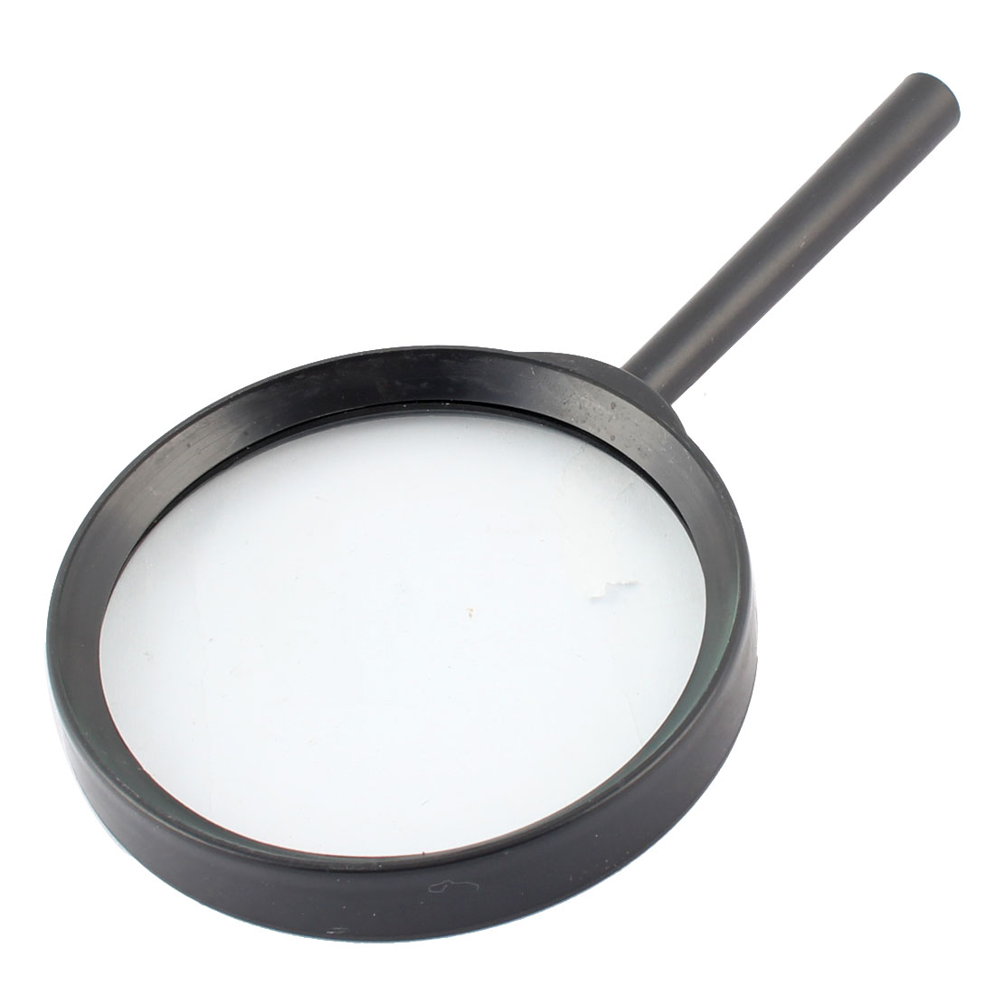 Plastic Frame Handheld Magnifier Reading Magnifying Glass Jewelry Loupe 90mm Diameter