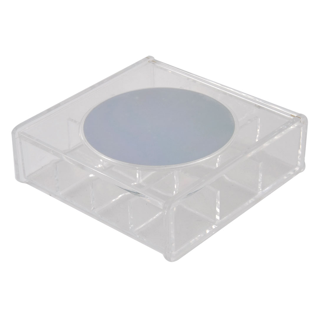 Bathroom Dresser Acrylic 12 Compartments Cosmetics Organizer Makeup Case Box Clear