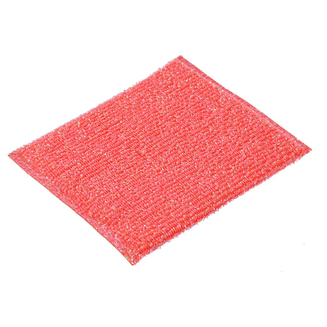 Kitchenware Tableware Bowl Plate Duster Cleaning Dish Scrub Sponge Cloth Red