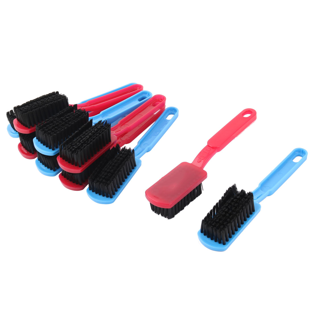 Household Bathroom Shoes Plastic Washing Scrubbing Cleaning Brush Tool 10pcs