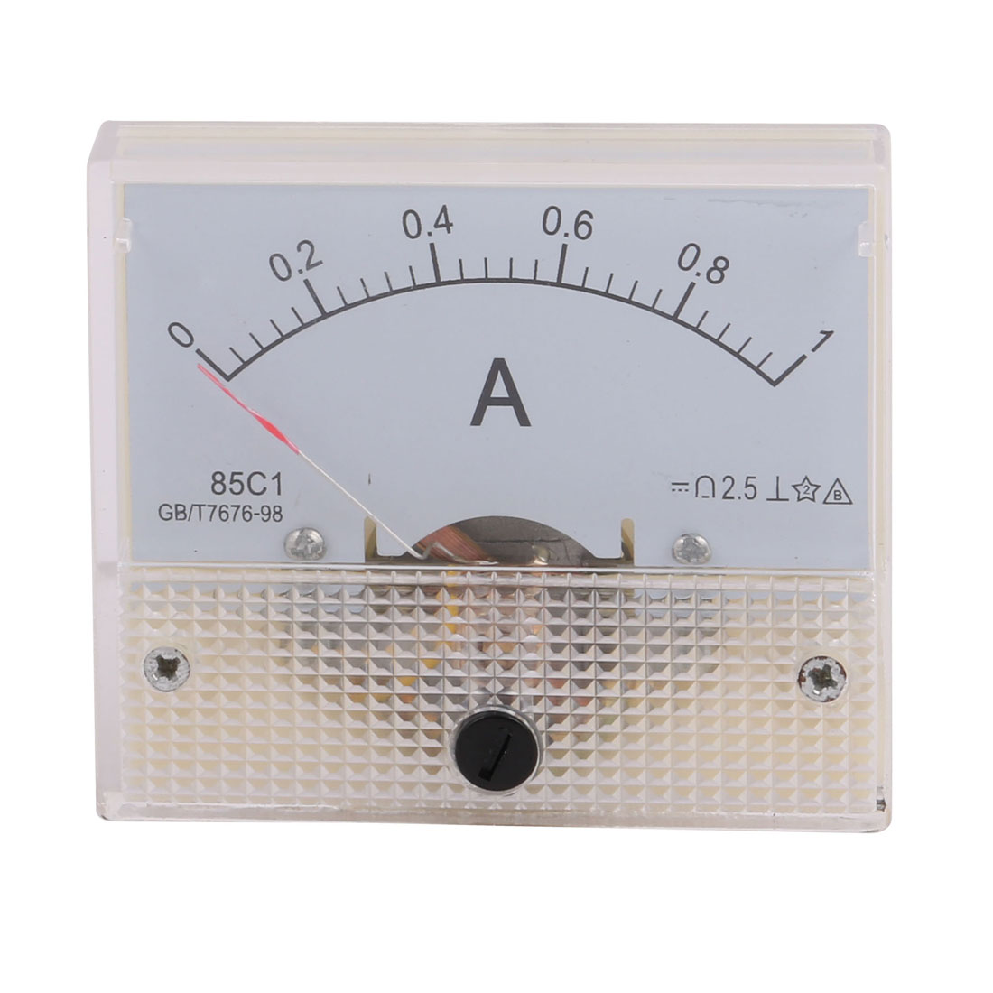 85C1 Class 2.5 Accuracy DC 0-1A Analog Panel Meter Ammeter Amperemeter