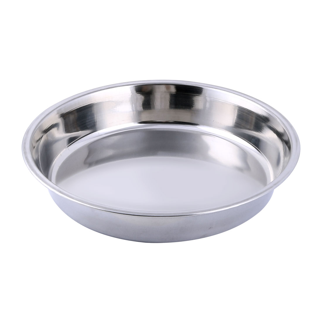 Home Restaurant Stainless Steel Food Fish Cooking Heating Steamer Pan Dish Silver Tone