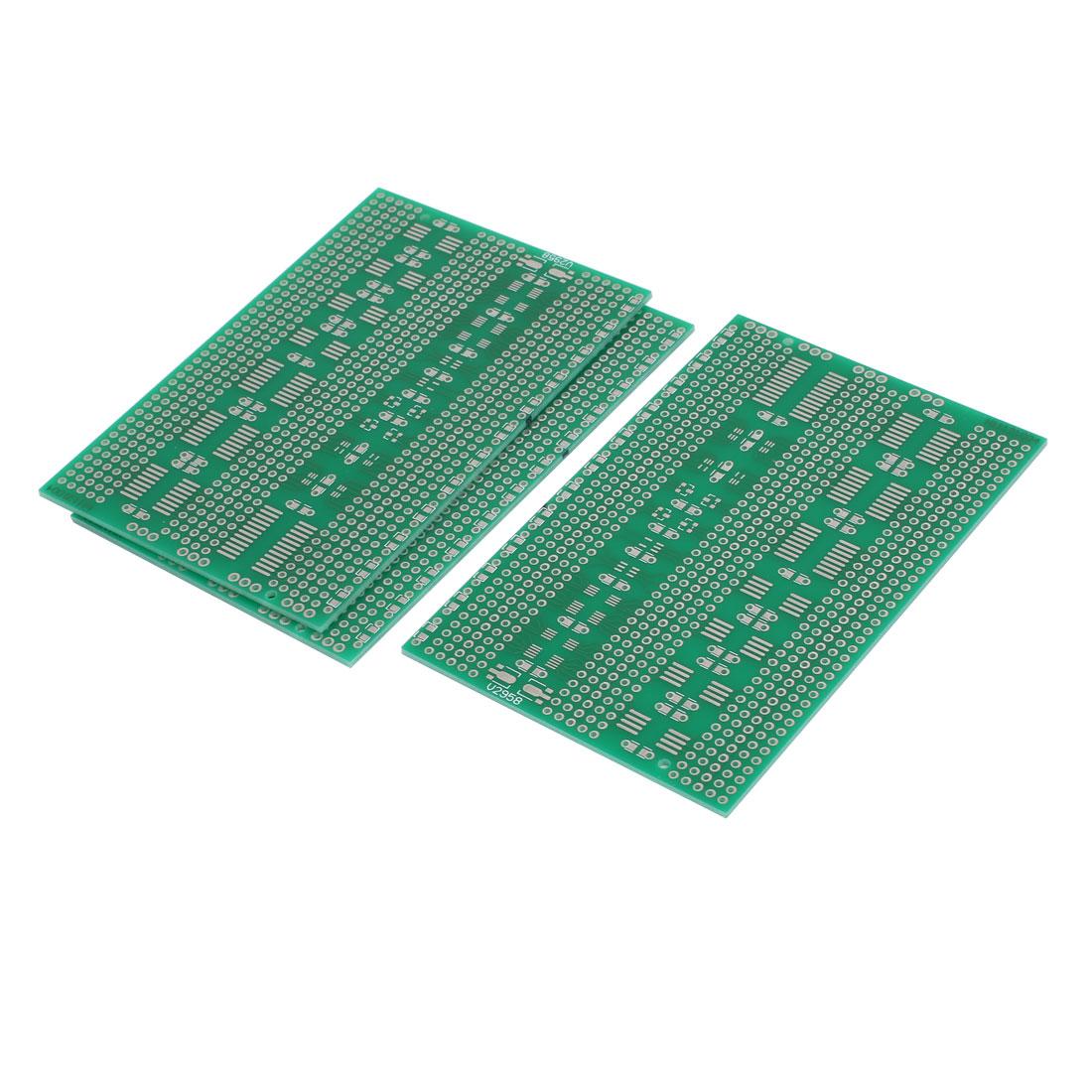 3Pcs 7cm x 11cm Single Sided Paper Tinned Universal PCB Print Circuit Board