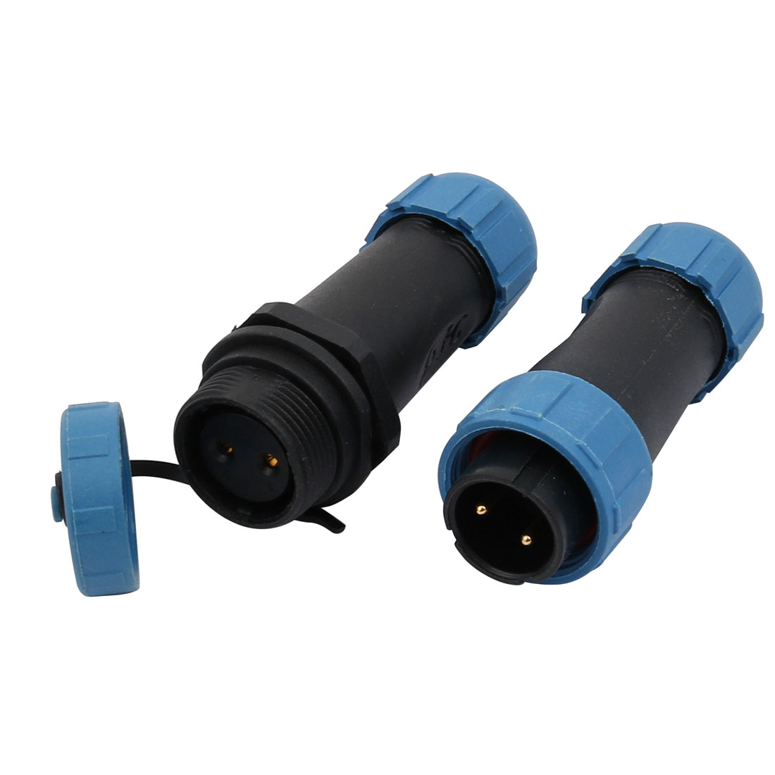 Pair 2 Terminals Male to Female Aviation Electrical Power Cable Connector SD16-2