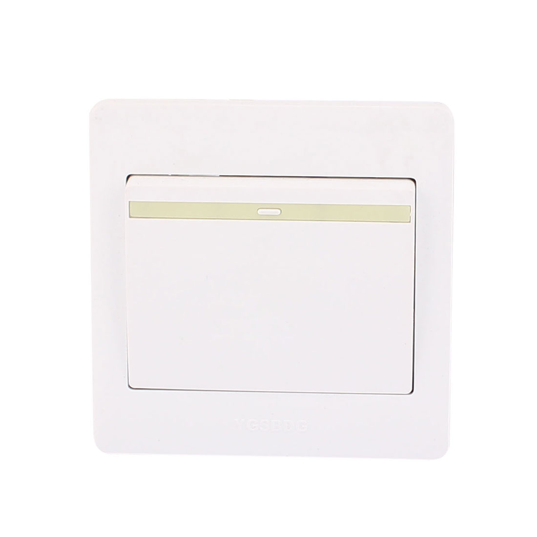 AC 250V 10A 1 Gang 2 Way On/Off 86Type Plastic Housing Wall Light Switch