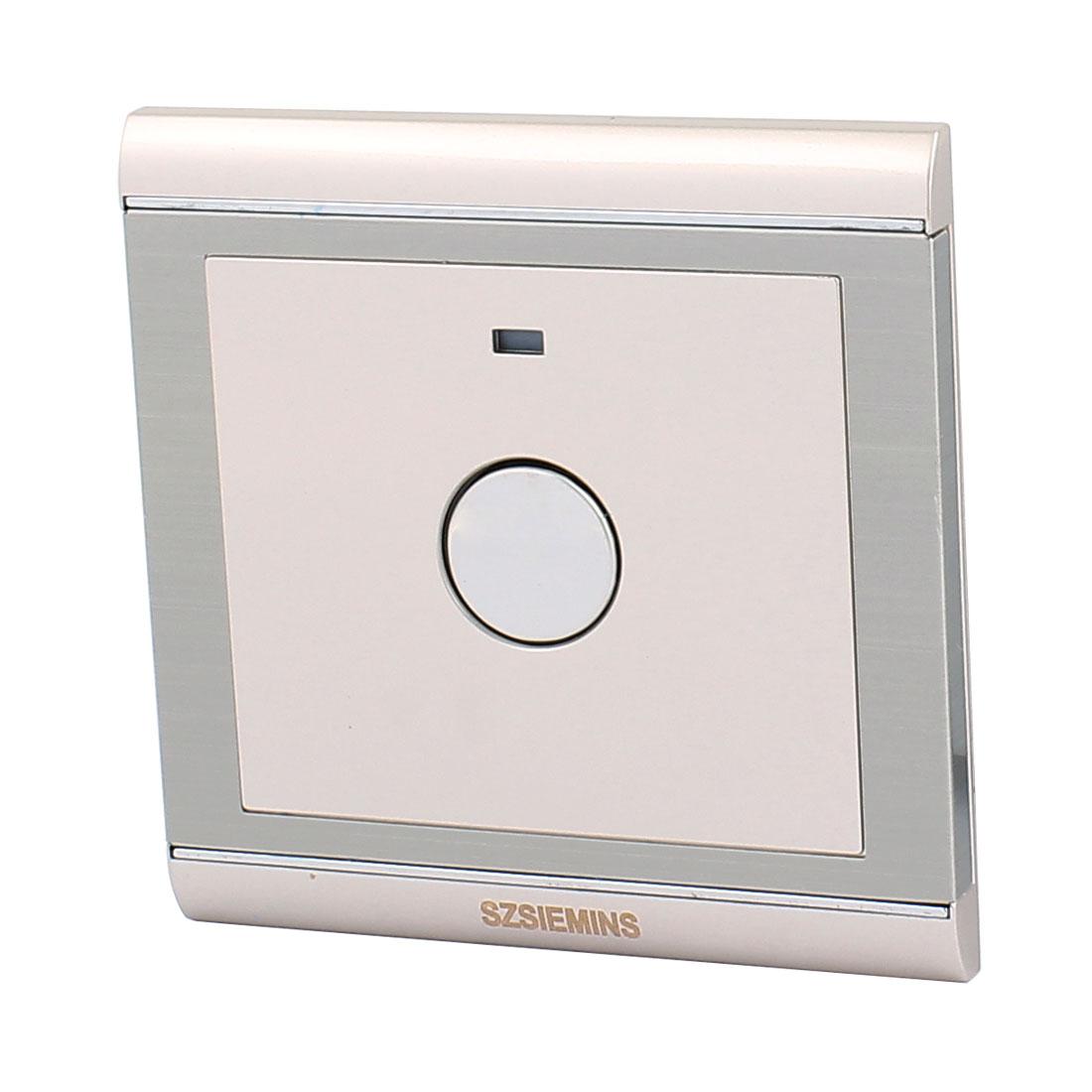 AC 160V-250V Noctilucent Indicator Light 86 Type Touch Sensor Switch Champagne Gold For Corridor