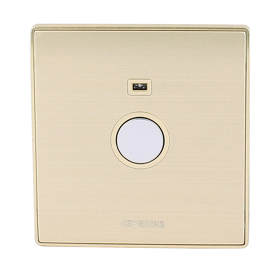 AC 160V-250V Noctilucent Indicator Light Touch Sensor Energy Saving Light Delay Switch Champagne Gold