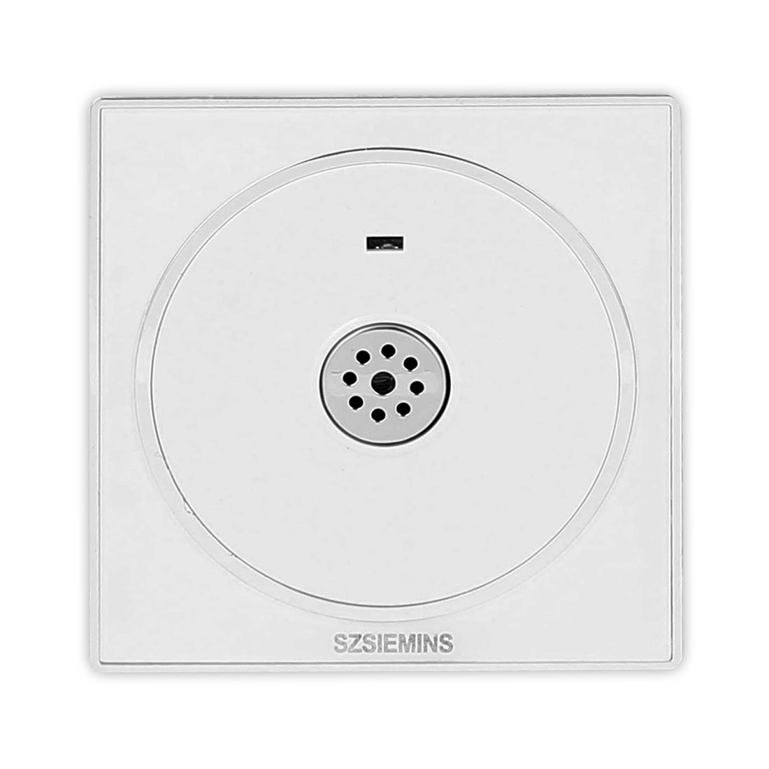 AC 250V Wall Mounted Energy Saving Sound Control Sensor PMMA Time Delay Switch White