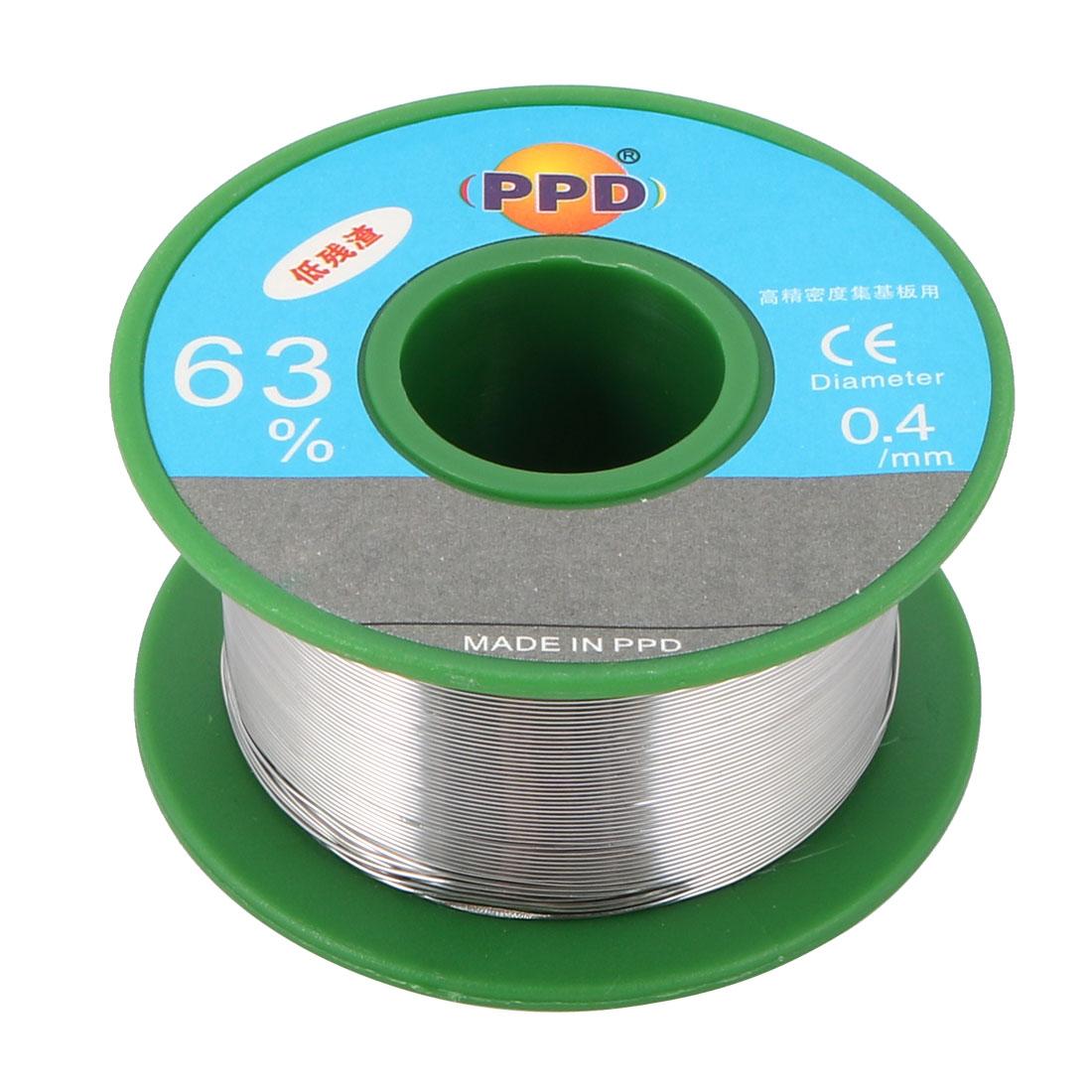 0.4 mm Dia 63/37 Tin Lead Welding Soldering Solder Wire Rosin Core Reel