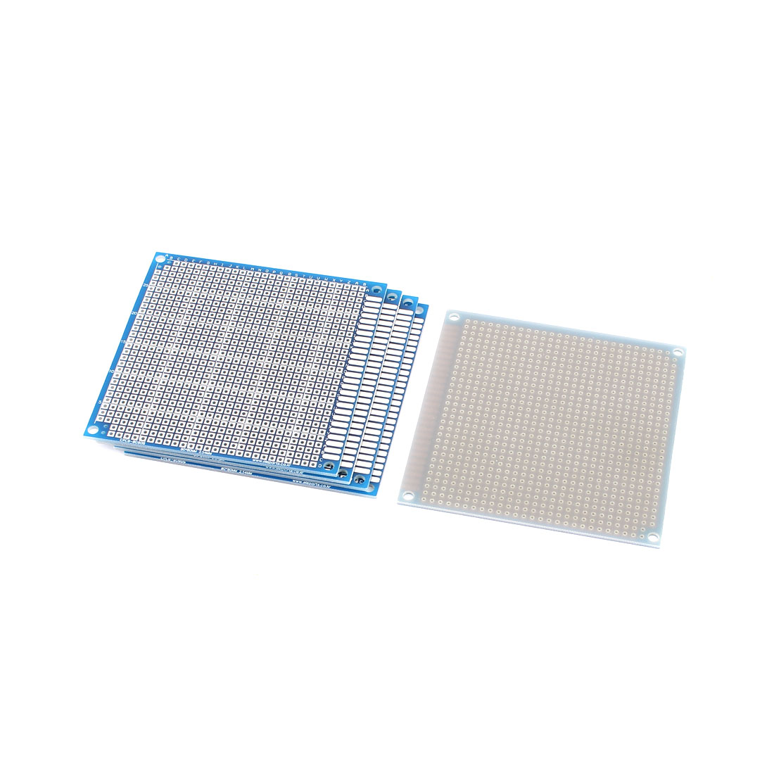 5PCS Single-sided PCB Printed Circuit Board Prototype Breadboard 8x8cm