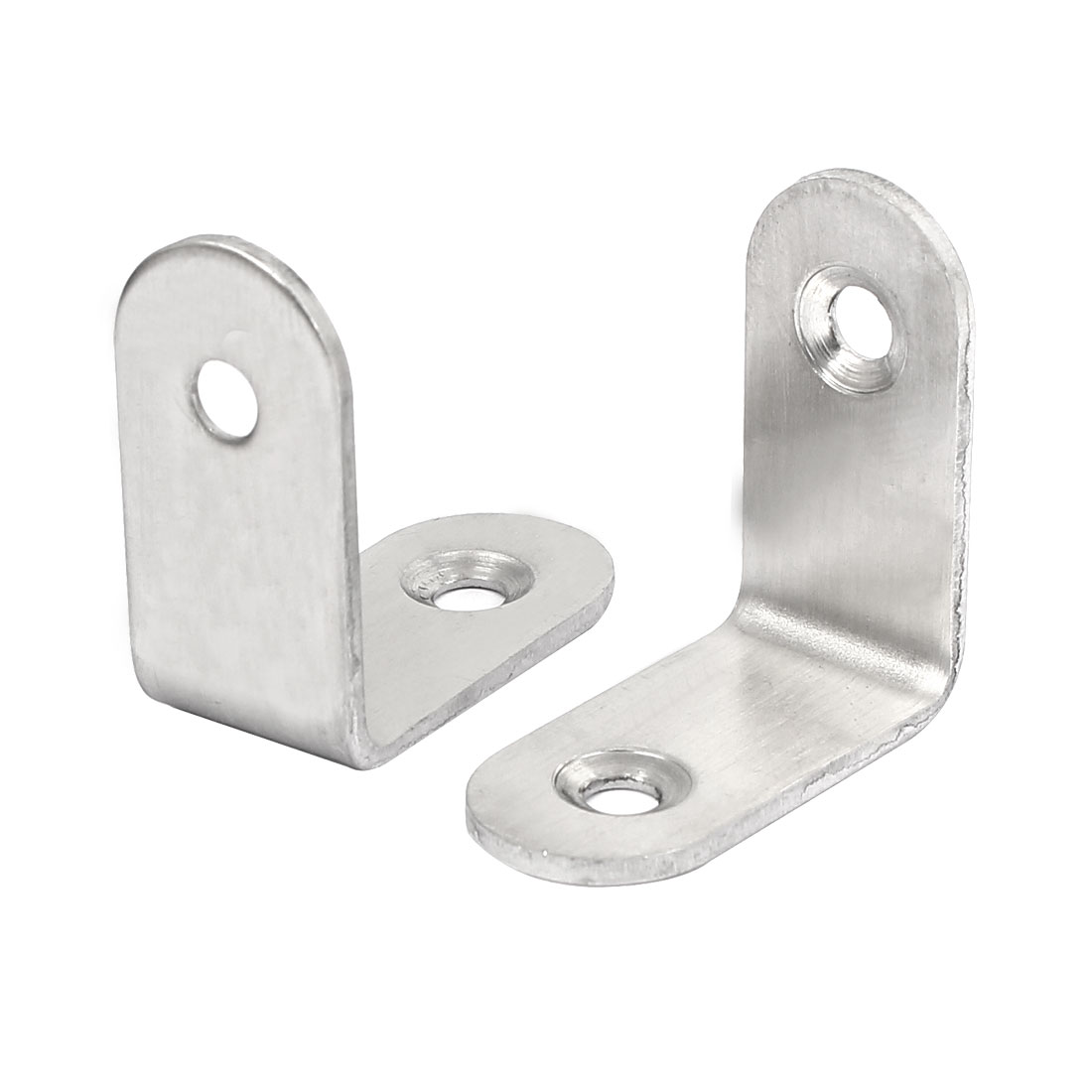 30mmx30mmx3mm L Shape Shelf Bracket Support Angle Brace 2pcs