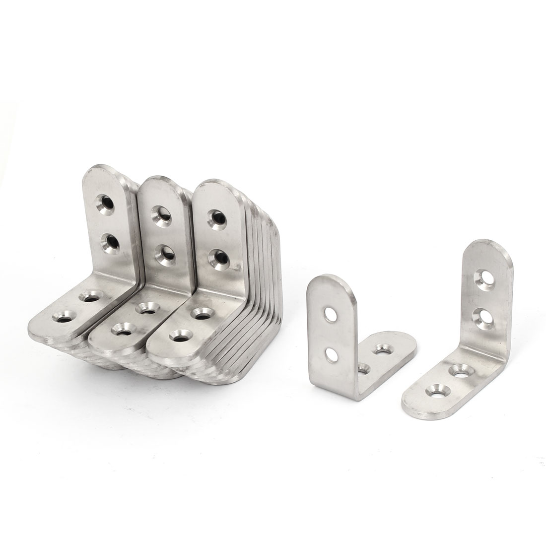 45mmx45mmx3mm Furniture Fittings Right Angle Corner Bracket 30pcs