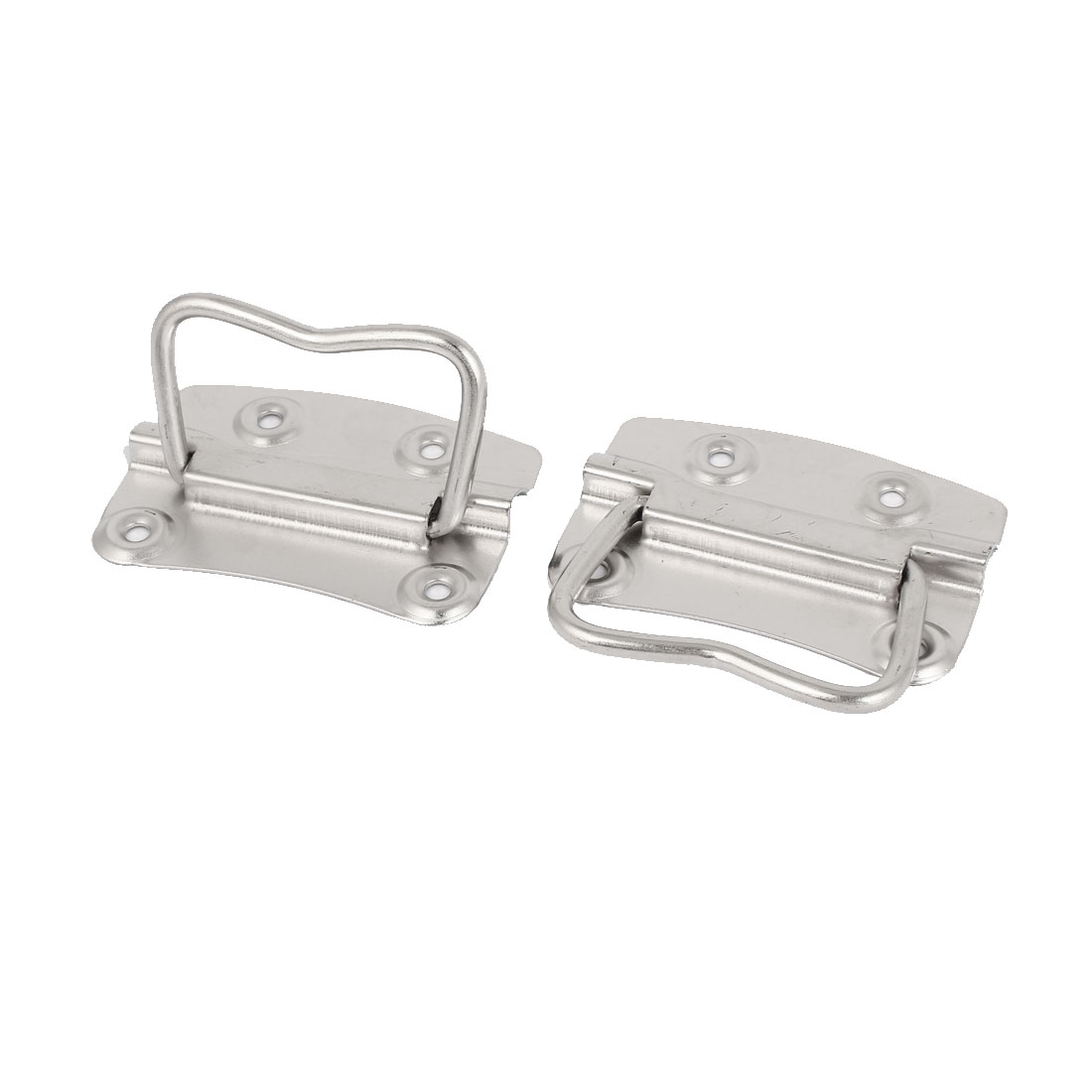 Household Storage Box Tool Chest Metal Puller Handle 80mm Length 2pcs