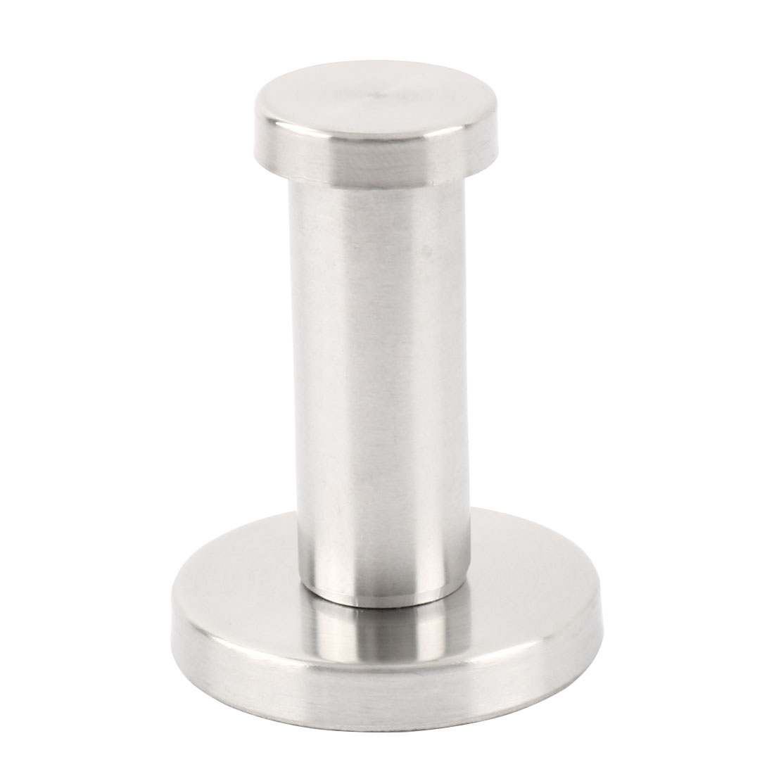 Stainless Steel Round Wall Mount Bathroom Robe Towel Coat Holder Hanger Hook
