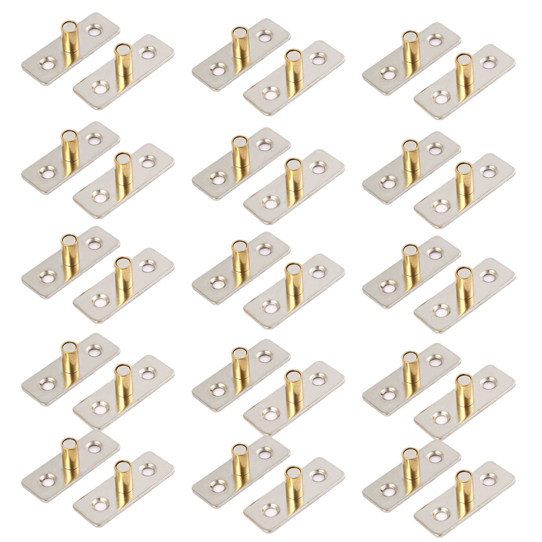 8mm Diameter Sliding Door Hanging Round Wheel Guide Locator Stopper 30pcs