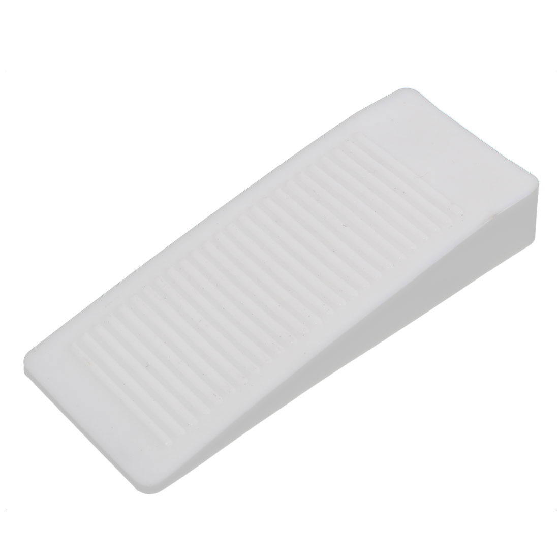 Home Office Safety Rubber Door Stop Stopper Doorstop Wedge Block White