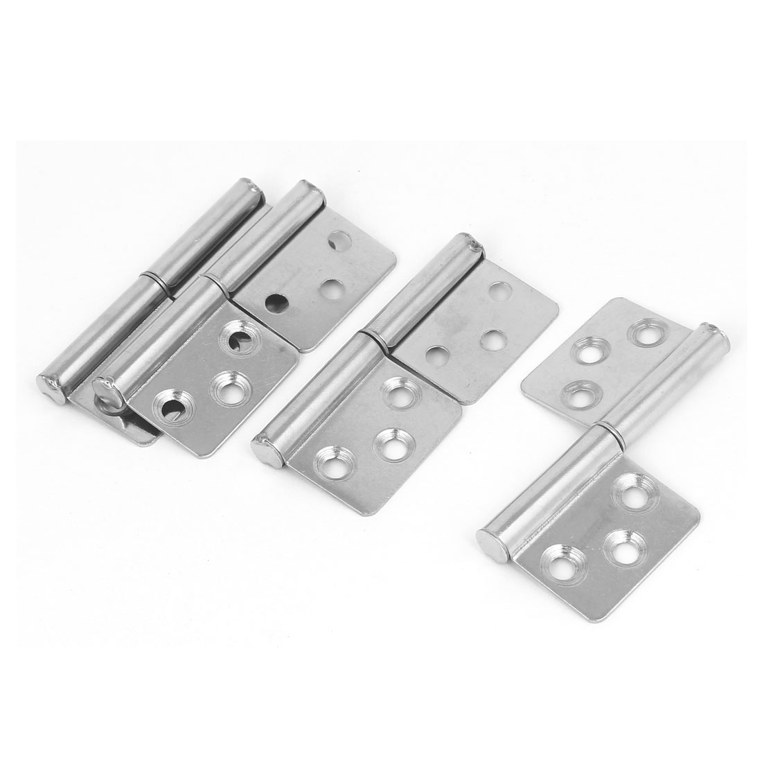 3-inch Long Stainless Steel Two Leaves Flag Hinge 4pcs for Window Door