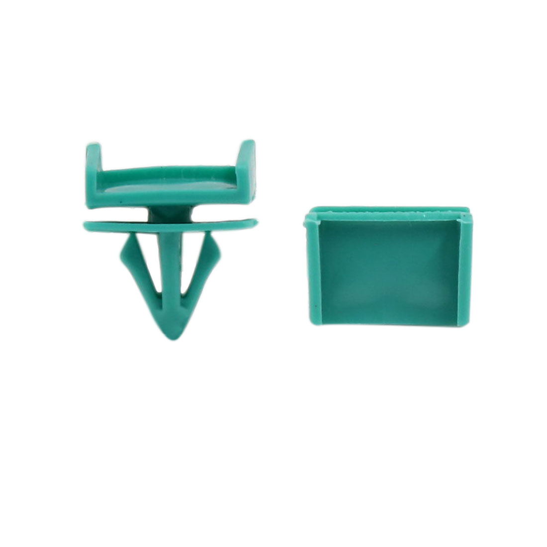 500pcs 12mm Door Plastic Rivet Engine Lining Trim Panel Clips Green for Buick