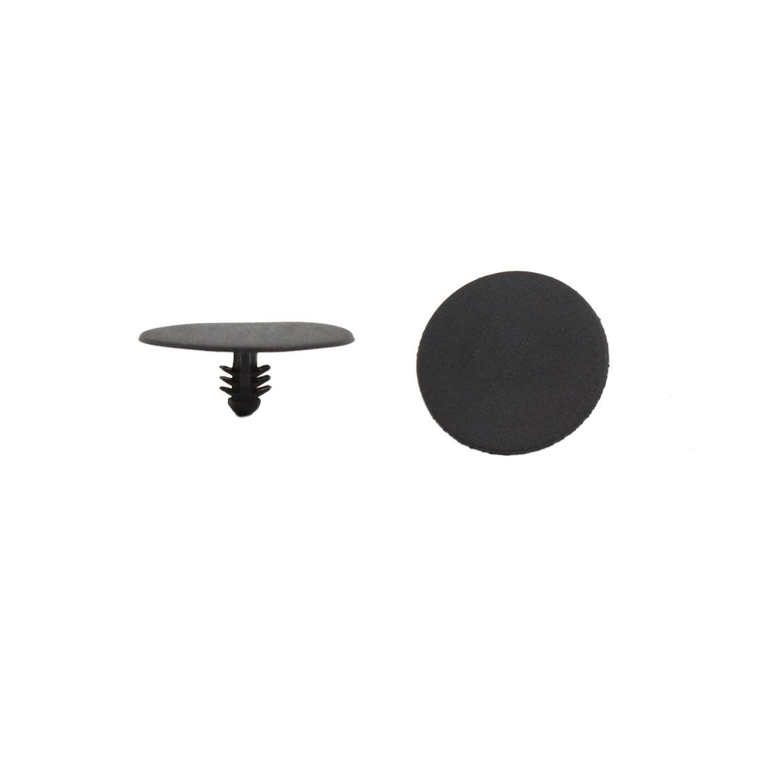 500pcs Black Plastic Splash Guard Defender Fastener Mat Rivet for Buick Excelle