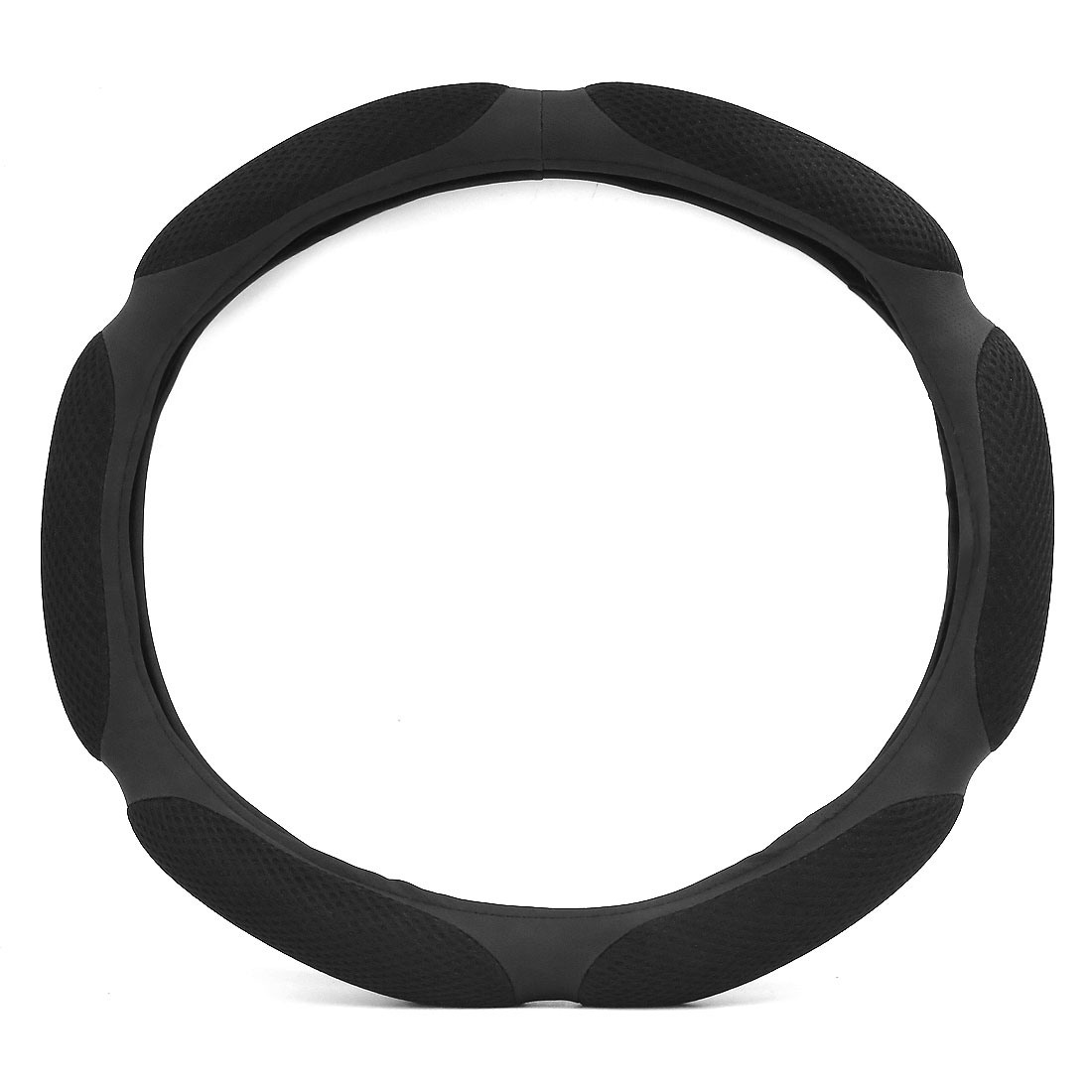 40cm Outer Dia Odorless Skidproof Steering Wheel Cover Sleeve Protector for Car
