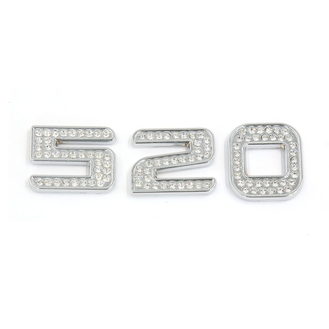 Universal Metal Adhesive 520 Style 3D Car Auto Body Badge Decal Emblem Sticker