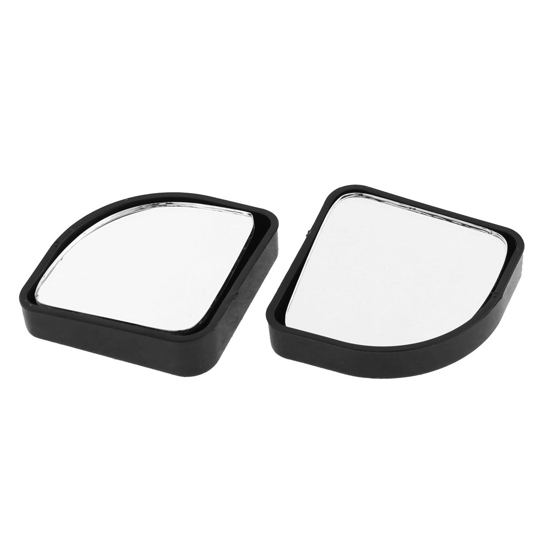 2Pcs Universal Self-adhesive Car Reverse Rear View Blind Spot Auxiliary Mirror