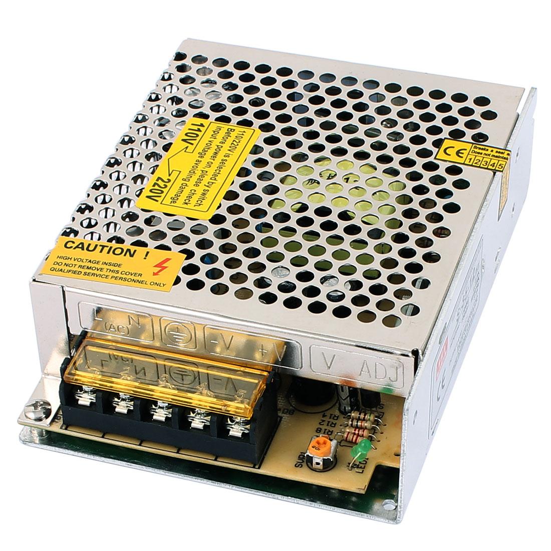 AC 110-230V 50/60Hz DC 12V 3.0A Switching Power Supply Driver for LED Strip Light