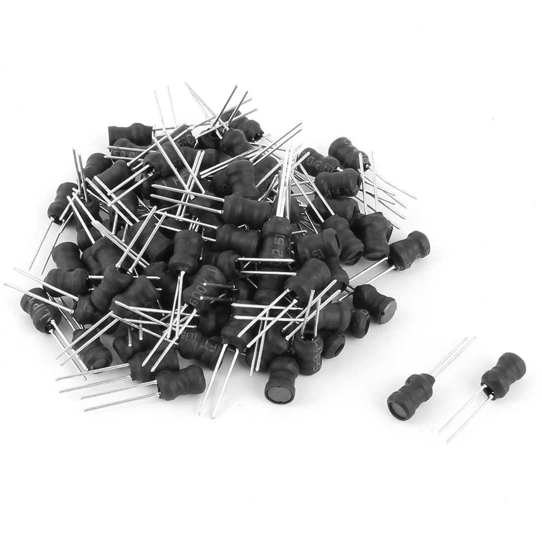 100pcs 47UH Inductance 5mmx7mm Shielded 2P Radial Lead Type DIP Inductors Electric Component