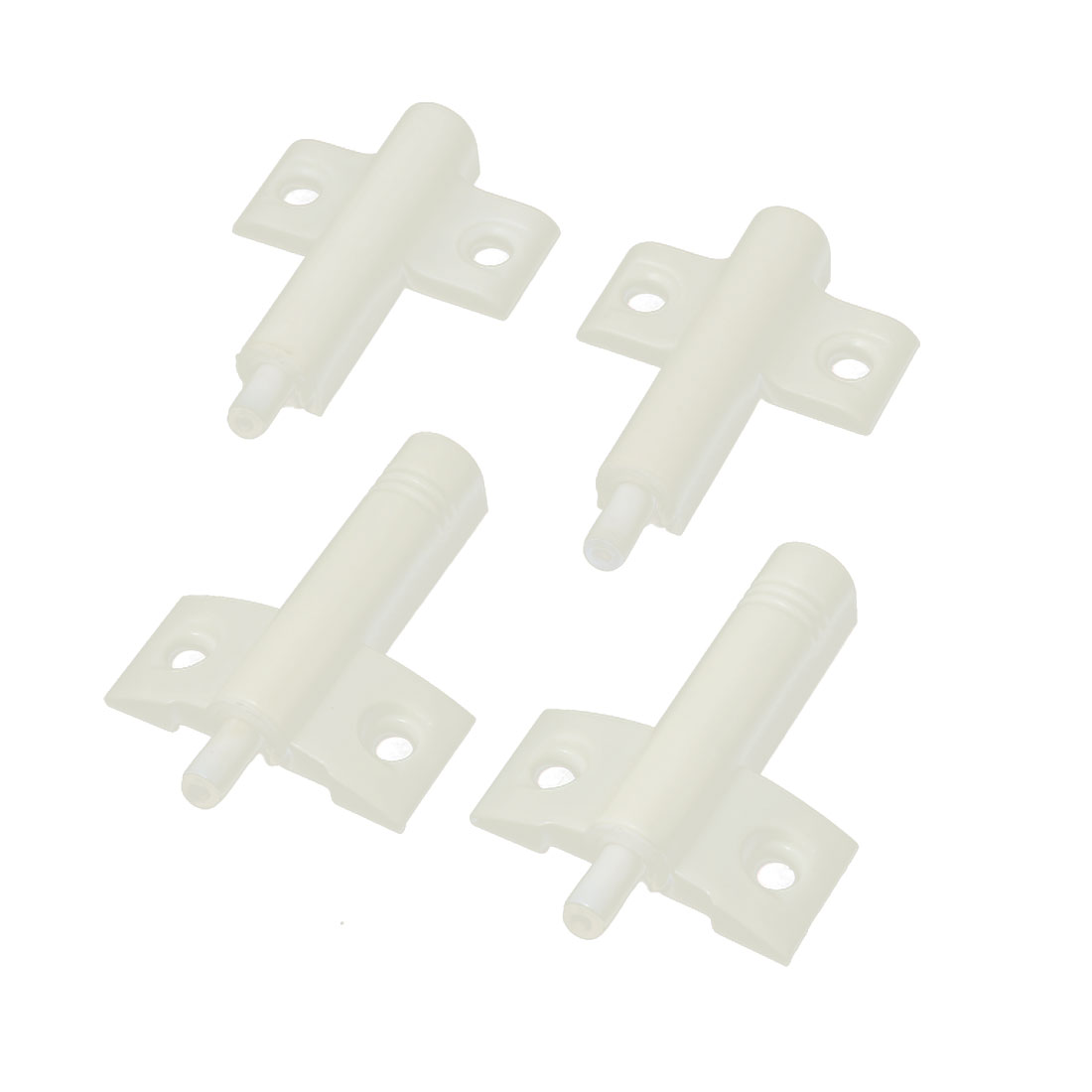 Furniture Fittings Door Damper Buffers Closer Cushion White 65mm x 45mm x 12mm 4 Pcs