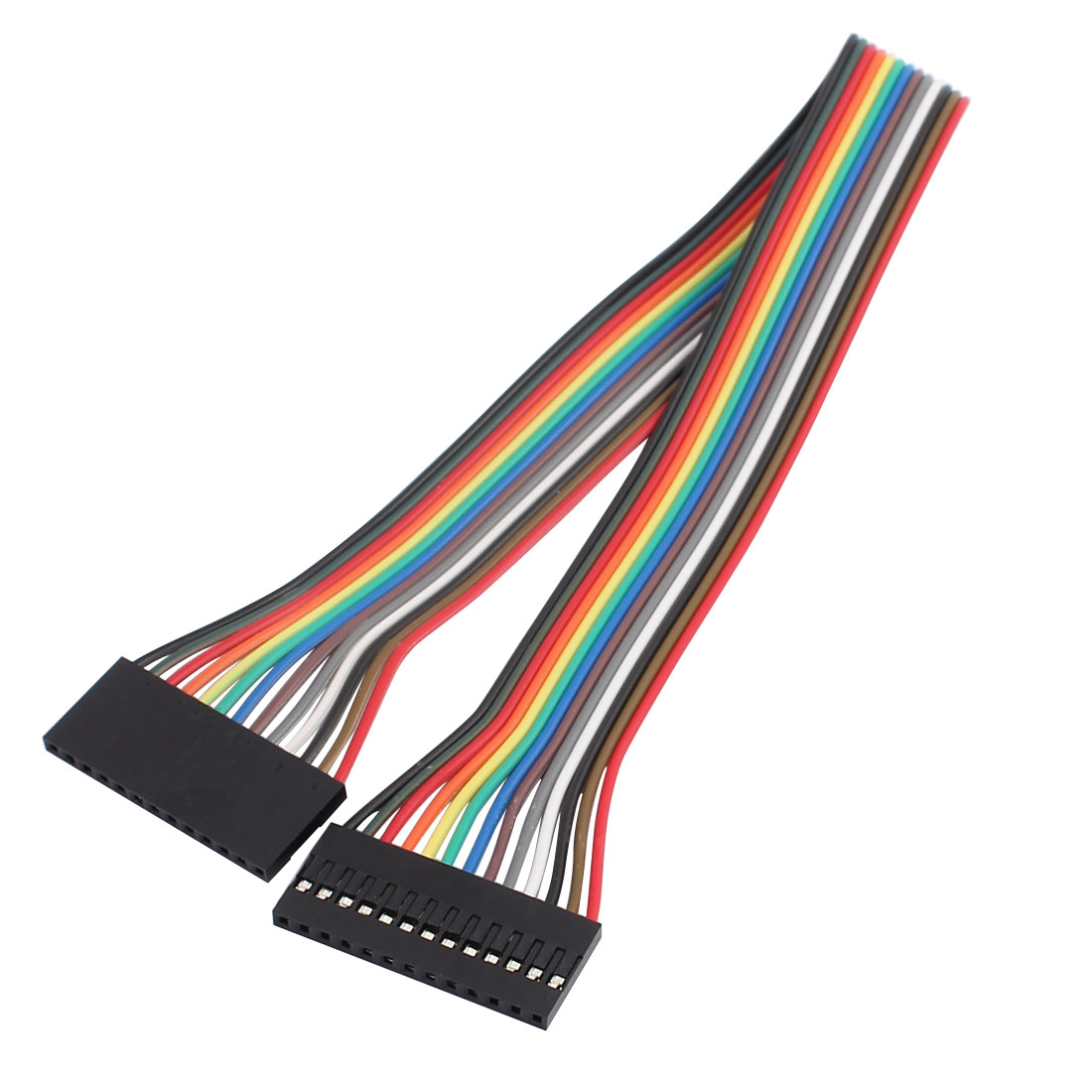 13P Jumper Wires Double Female Head Ribbon Cables Pi Pic Breadboard 31cm Long
