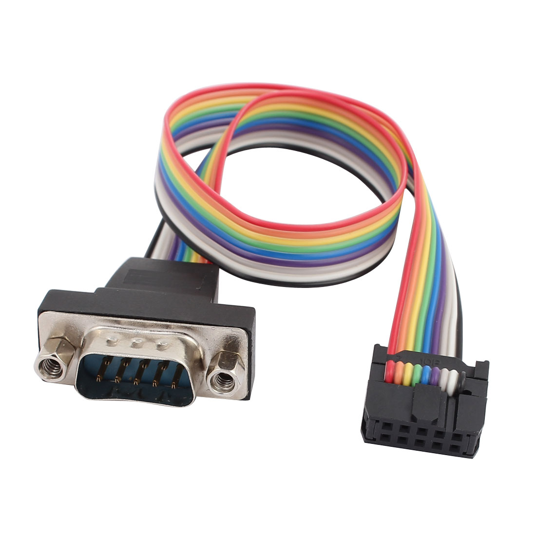 RS232 DB9 Female Serial Port To Double Row Female Head Jumper Wire 26cm Cables