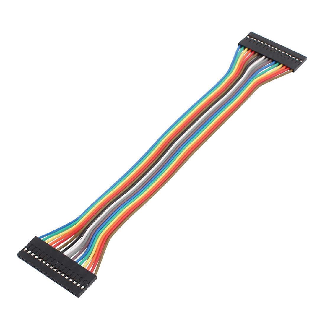 16P Jumper Wires Double Female Head Ribbon Cables Pi Pic Breadboard 21cm Long