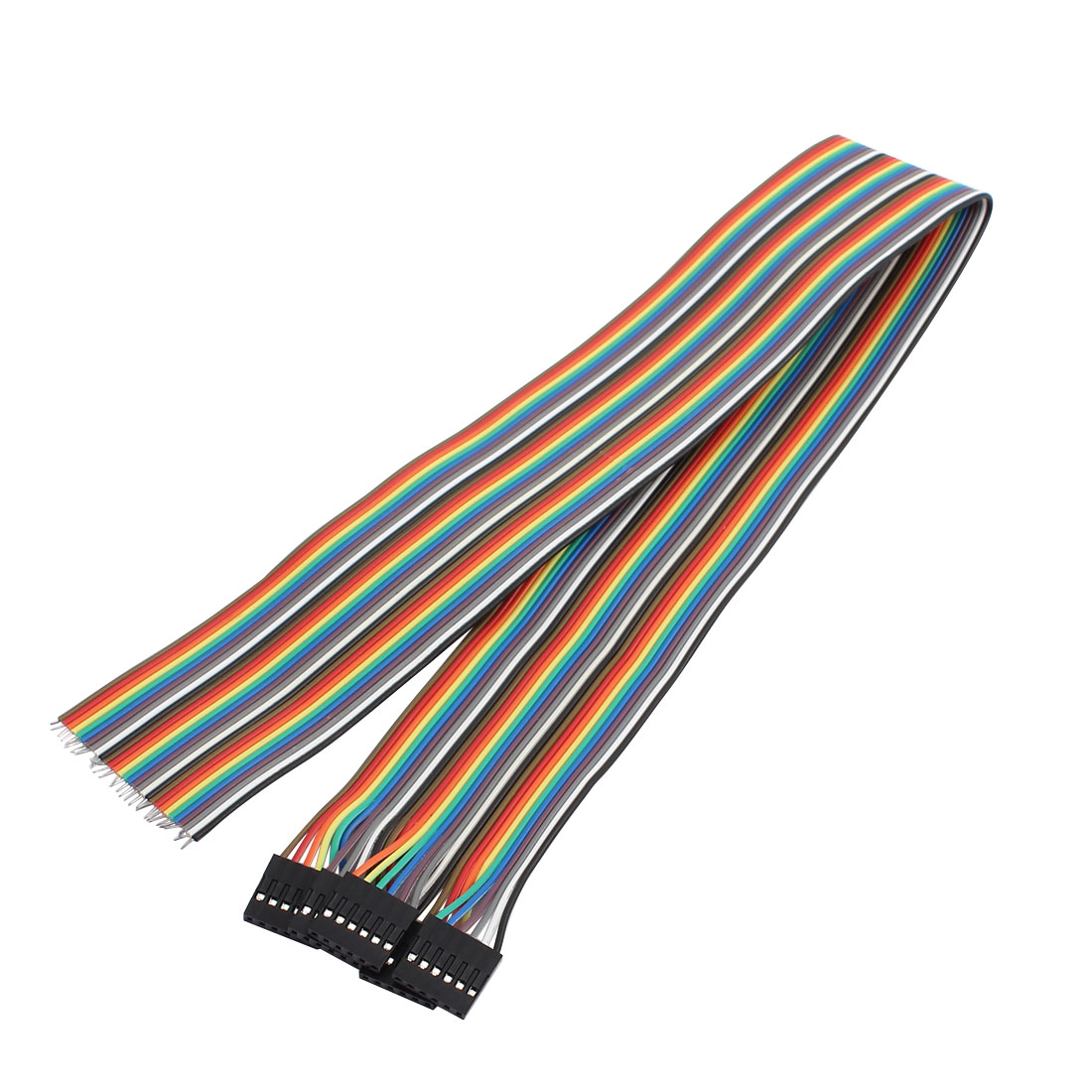 10Pcs 6P Jumper Wires Single Female Head Ribbon Cables Pi Pic Breadboard 50cm Long