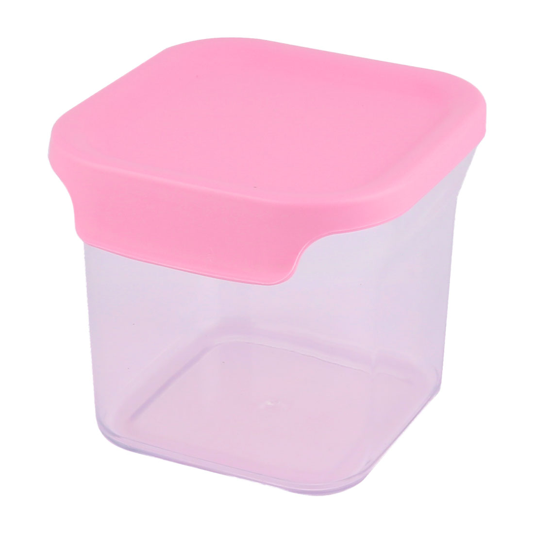 Picnic Hiking Plastic Airtight Cheese Food Storage Box Container Organizer Pink 650ML