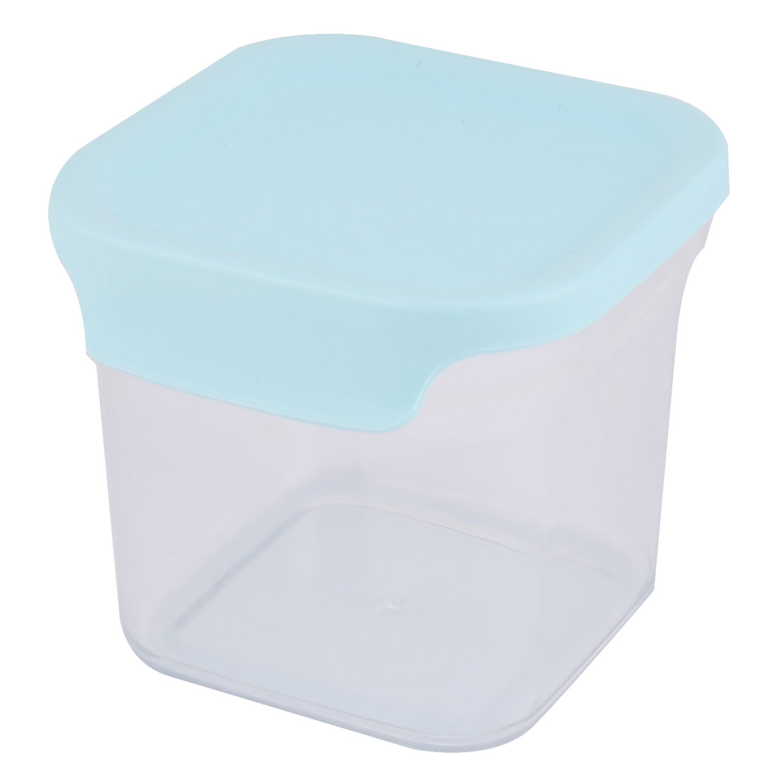 School Apartment Plastic Airtight Food Suger Snacks Storage Box Container Blue 650ML