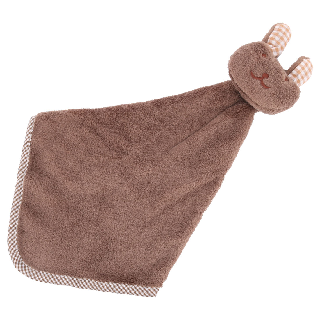 Kitchenware Rabbit Design Terry Wall Hanging Cleaning Hand Drying Towel Washcloth Coffee Color