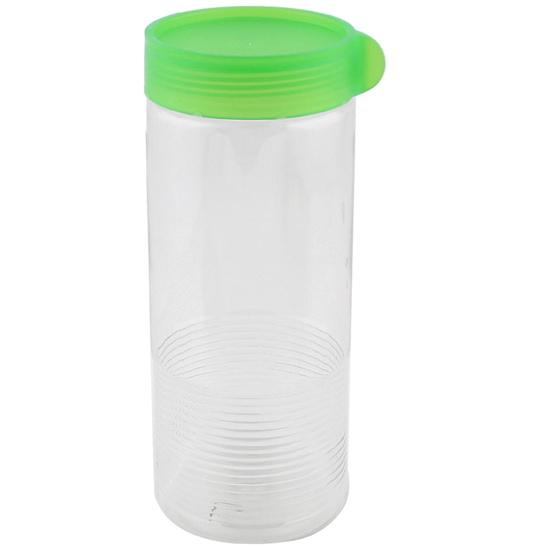 Family Kitchenware Plastic Sugar Cookie Nuts Seal Food Canister Container Green 900ML